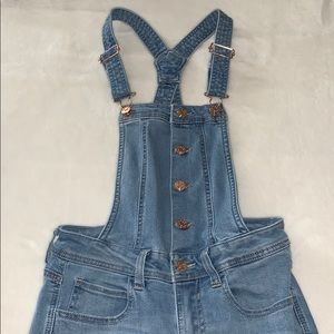 Guess jean overalls